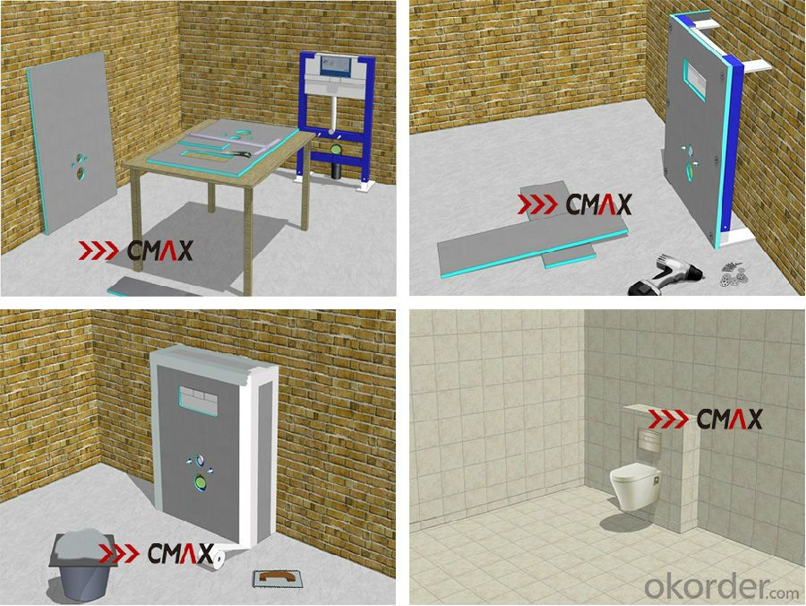 Buy XPS Tile Backer Board for Shower Room in Europe CNBM Group ...