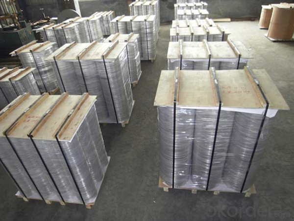 Aluminum Blanks for Pressure Pan Hot Rolled
