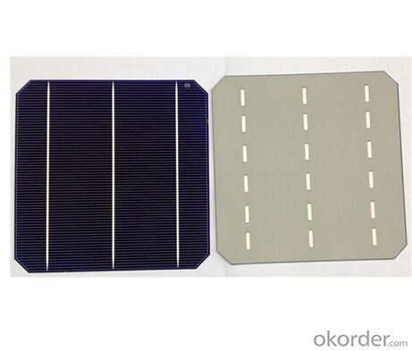 Poly Solar Cells 156X156MM2  High Efficiency Made in China