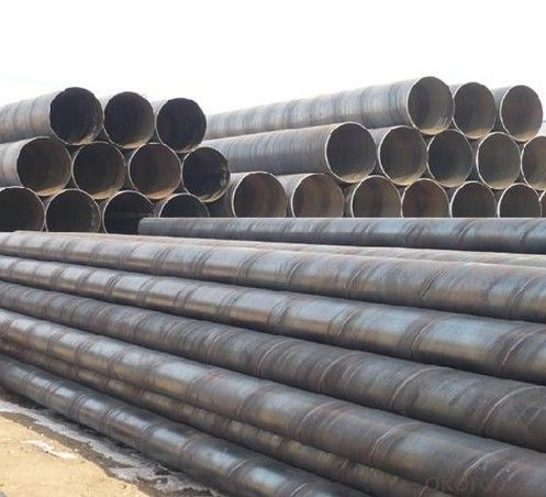 SSAW High Carbon Steel Tubes With Good Quality