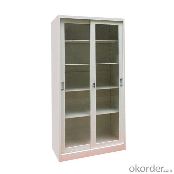 Office Furniture School Locker Glass Double Door Laboratory