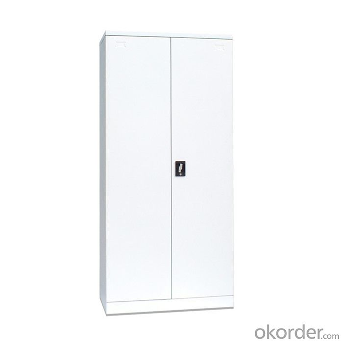 Office Furniture School Locker Double Door with Drawers