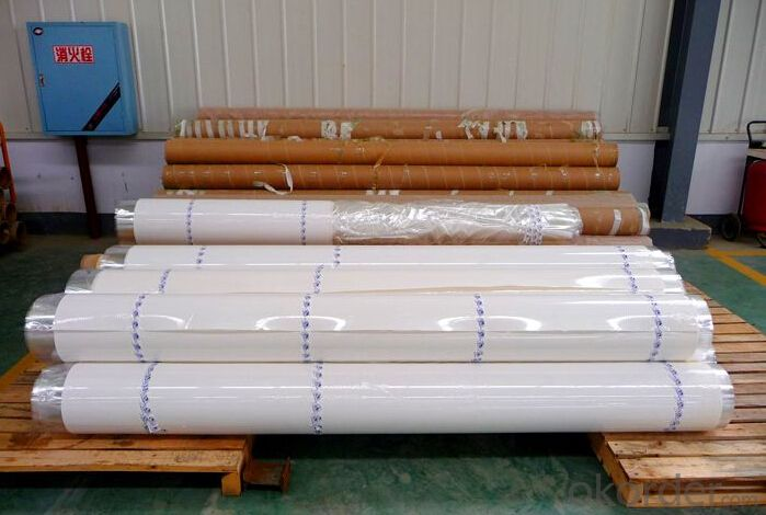 Long Fiber Polyester Mat For APP/SBS Bitumen Waterproof Membranes