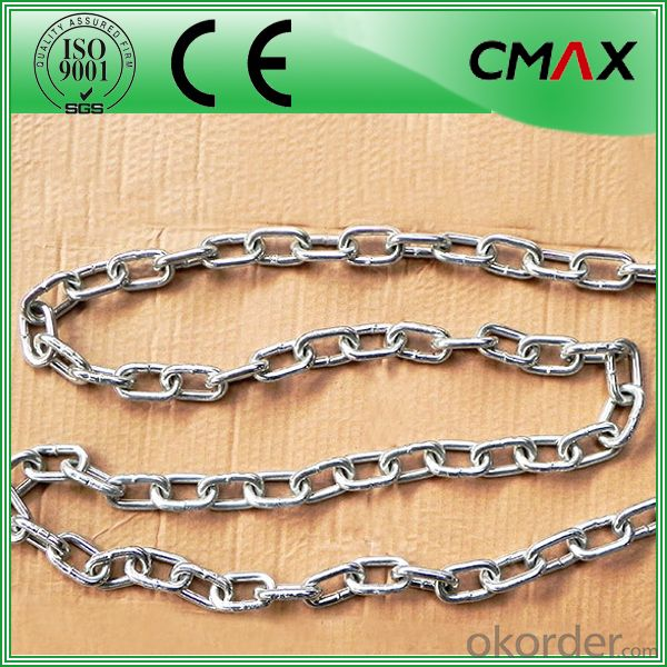 Stainless Steel Long Link Chain/Short Link Chain 3mm-16mm
