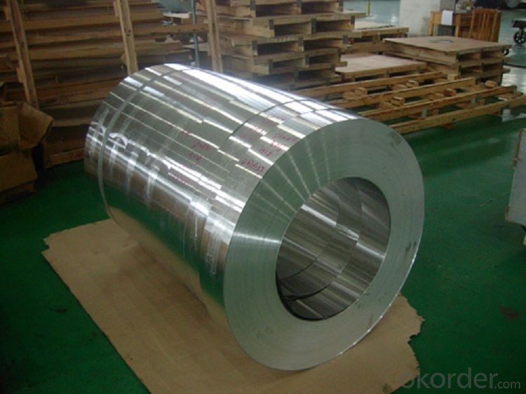 Aluminium Strip 0.19mm X 94mm Lacquered for Vial Seals