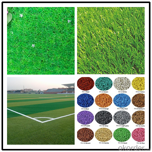 Financial Enviroment Friendly  Artificial Grass for Soccer Football