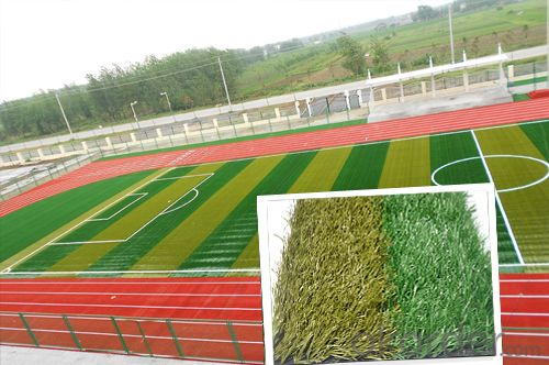 CE Factory Plastic Artificial Football Grass