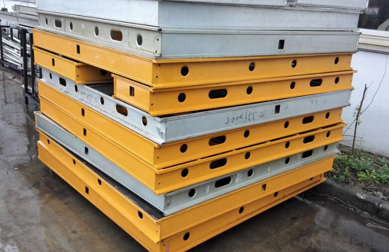 Aluminum-Frame Formwork with High Efficiency Applications