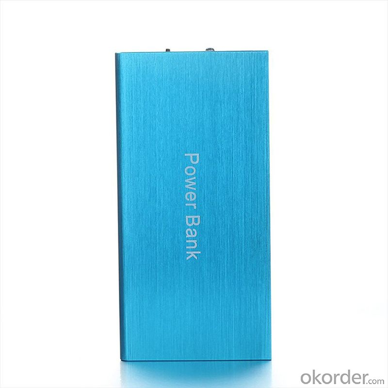 Full capacity Ultra slim oem logo 8000mah power bank for philips dlp8000 with LED flashlight