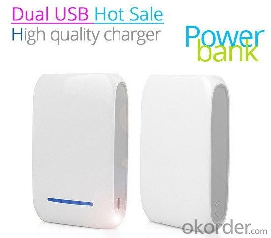 Led Indicator Smart Power Bank, High Capacity Mobile Power Charger