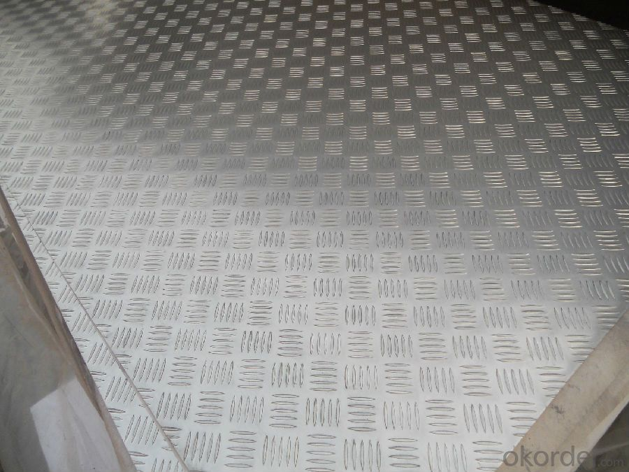 Embossed Aluminium Coils for Bus Building