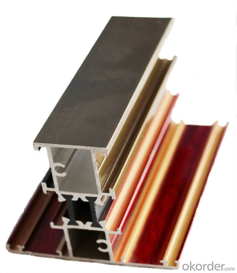 Aluminium Profile to Make Doors and Windows 6063 Alloy T5
