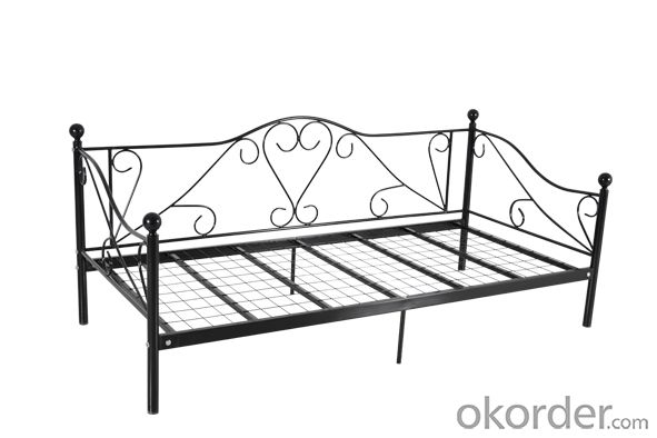 Metal Bed European Style Model CMAX-MB014