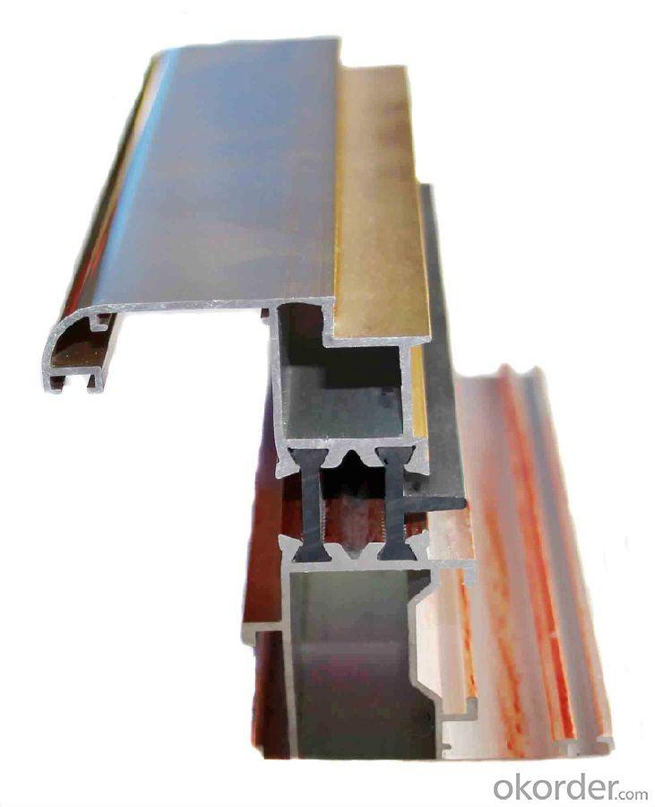 Aluminium Profile to Make Doors and Windows 6063 Alloy T5