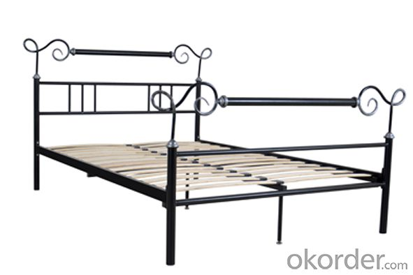 Metal Bed European Style Model CMAX-MB013