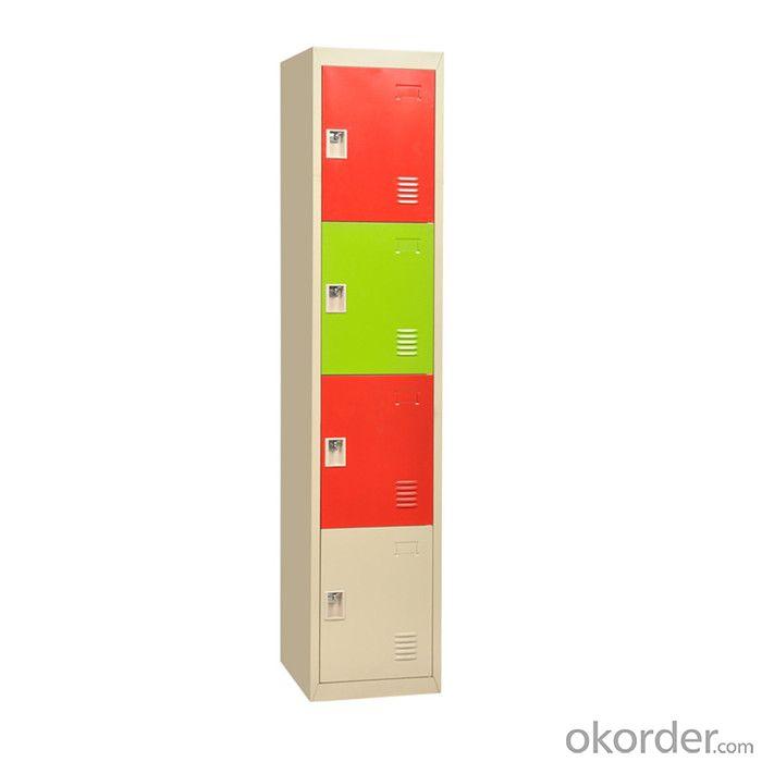 Steel Locker 4 Door Steel Furniture for good Storage CMAX-1C-4T