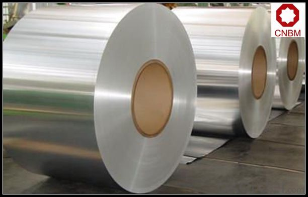 Aluminum Foil Coil Stock in Large Quantity