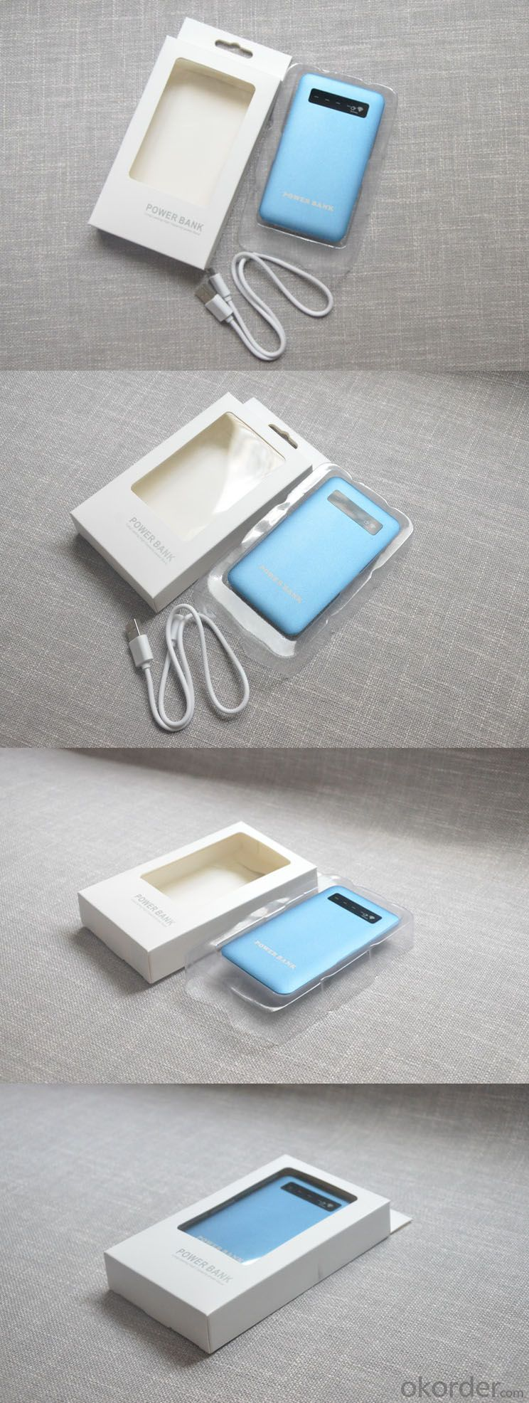 Ultrathin Portable Mobile Power 4000mAh Power Bank for iPhone6 (SPB-1002)