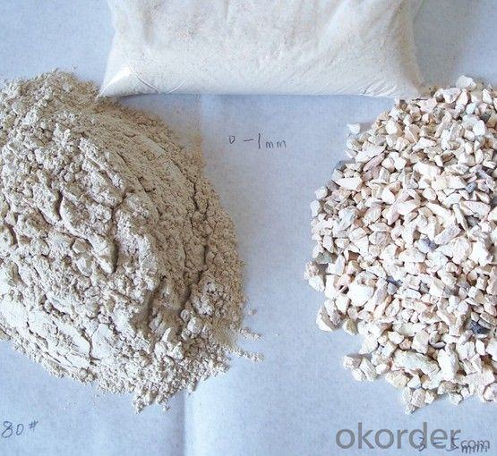 High Alumina Calcined Bauxite Ore For Refractory