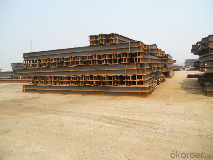 Hot Rolled Steel  H-Beam for support structure