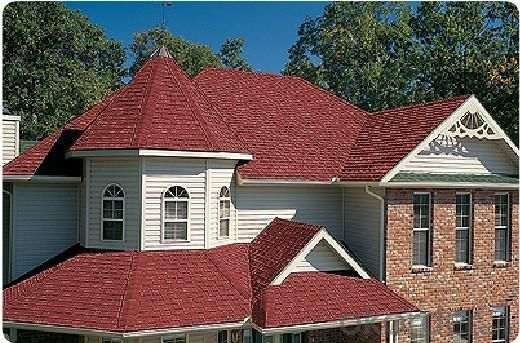 Stone Roof Tile Roofing Steel Shake Shingles