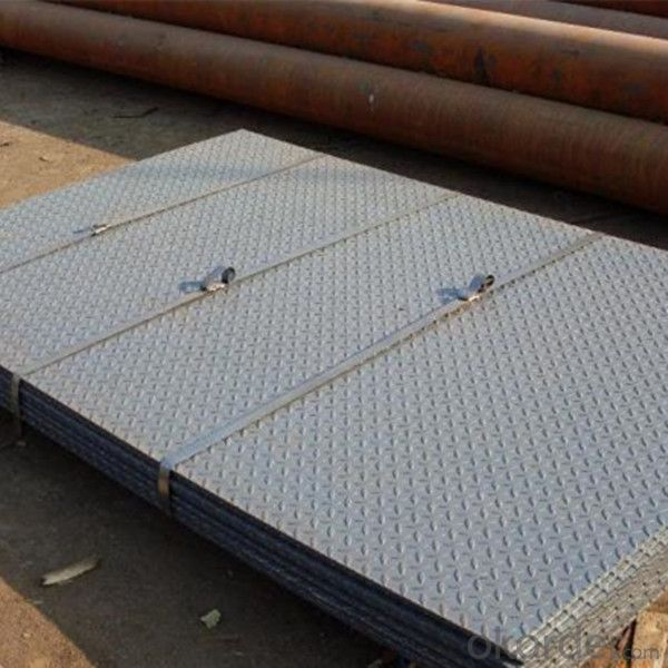 Prime Hot Rolled HR Steel Chequered Sheet China Supplier