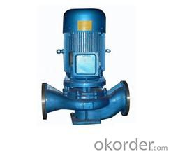 Cast Steel Vertical Pipeline Water Centrifugal Pump