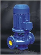 Stainless Steel Vertical Pipeline Water Centrifugal Pump Low Pressure