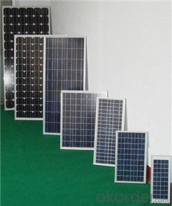 36V 220W PV Monocrystalline Solar Module with CE FCC Approved