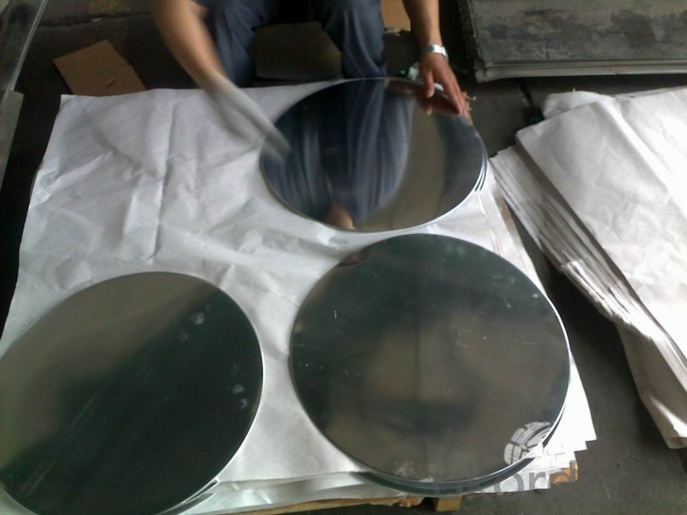 Continuous Casting Aluminum Cois for Kitchen Pot