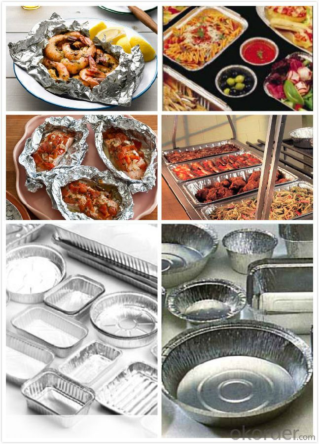 Aluminium Container Foil for household HHF