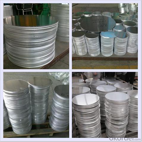 Continous Casting Aluminium Circle Plate AA1100
