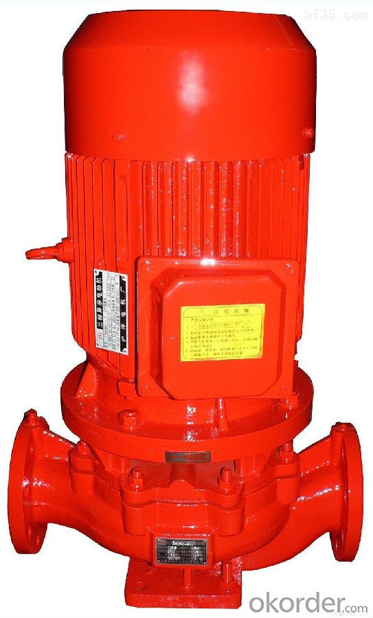 Fire Pump Cast Steel Electric High Quality High Sales