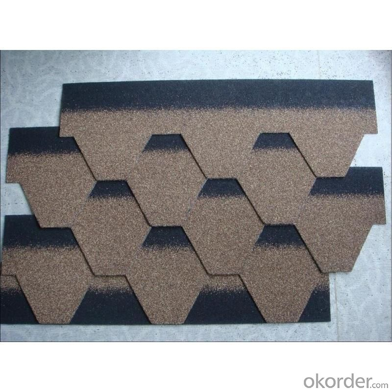 Double Laminated Standard Bitumen Asphalt Shingle