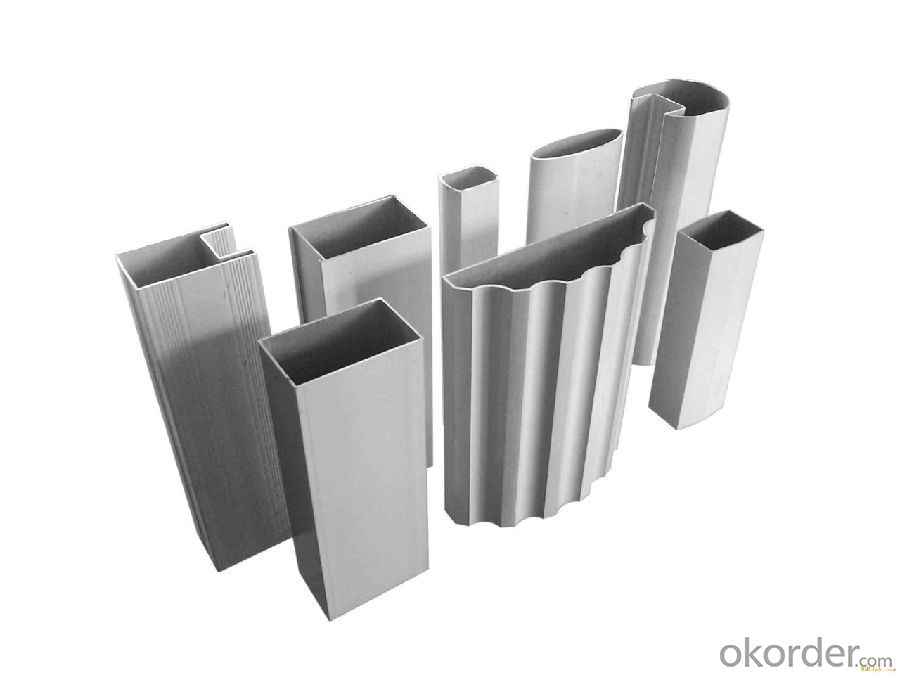 Extruded Profile Aluminium Profile To Make Doors