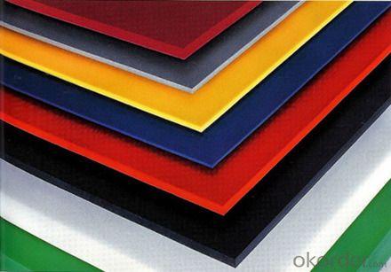 Transparency Polystyrene Organic Board,PS board