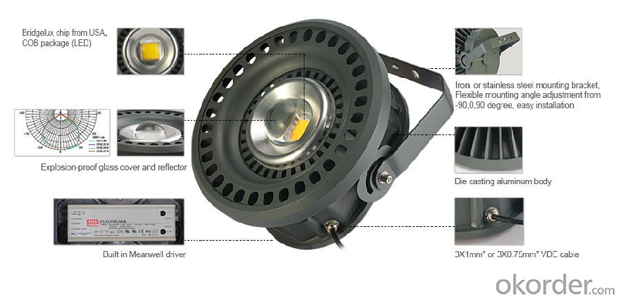 high power explosion-proof LED light