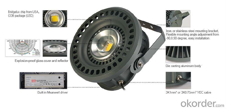 high power explosion-proof LED light