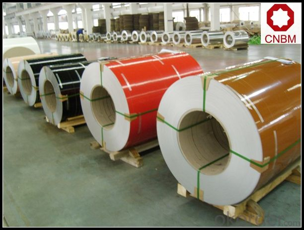 PVC Coated Aluminium Coil Alloy 1100 3003 5052