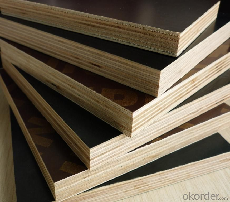 Hardwood Core Film Faced Plywood For Construction