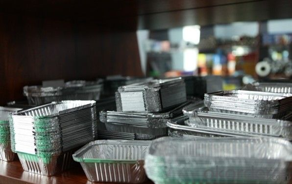 Aluminum Foil for Food Packaging/Aluminium Foil Container for food