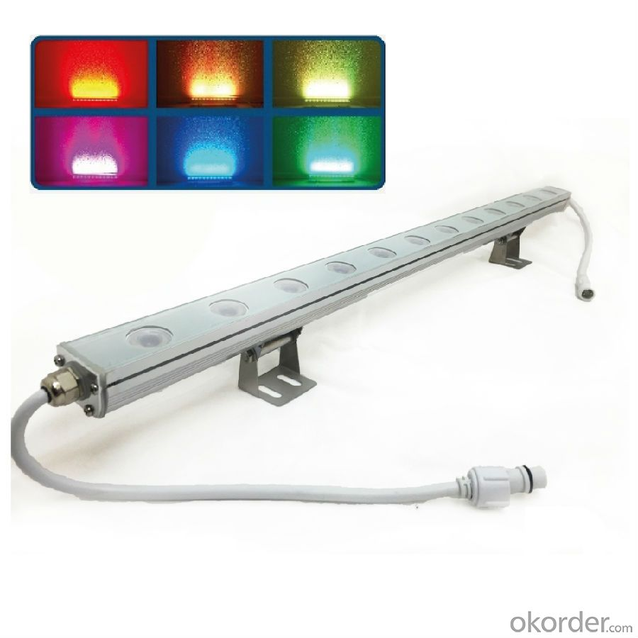 Energy-efficient ouotdoor Colorful LED wall washer lights
