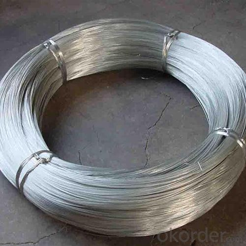 Galvanized Iron Wire For Hexagonal Wire Mesh TinJin Port FOB 400USD