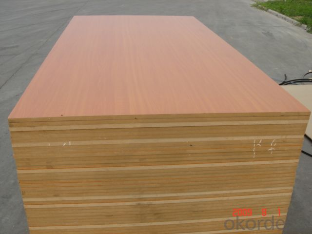 1220 x 2440 x 17mm Melamine Faced MDF Board