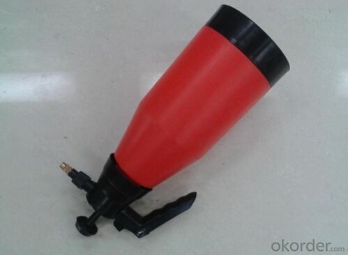 Plastic Watering Can with Prussure Sprayer
