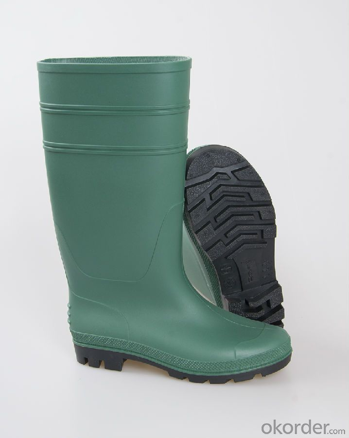 PVC Industry Boots PVC Mining Safety Boots with Steel Toe