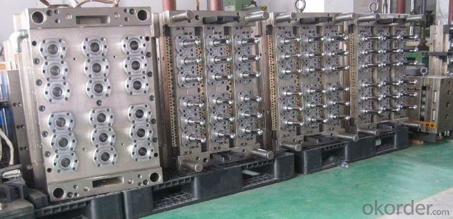 Hot Runner Valve Pin PET Bottle Preform Mold