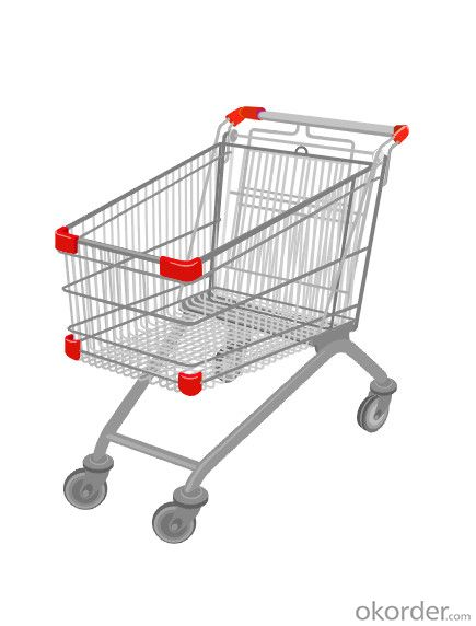 60-275 Liters Zinc Series Shopping Trolley