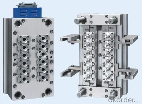 Multi-Cavities PP Preform Mould with Hot Runner