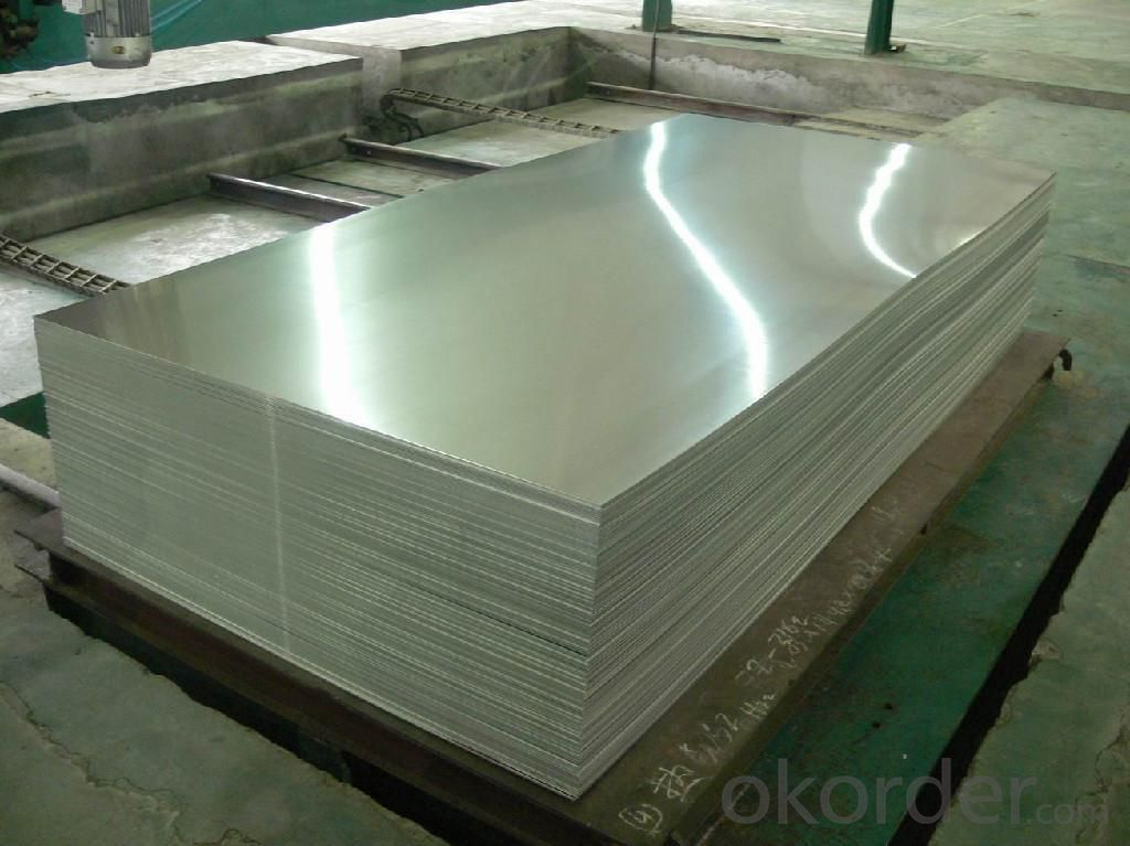 Bean Grain Aluminum Sheets for Decoration AA3003